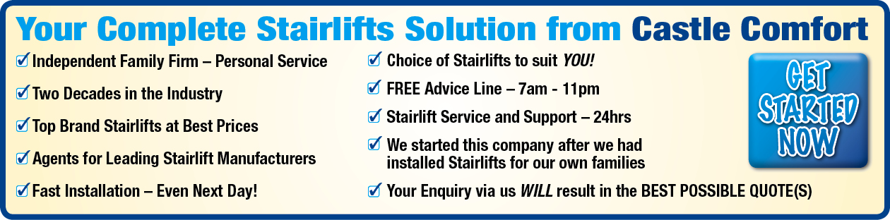 Castle Comfort Stairlifts - London