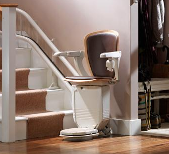 curved stairlifts in London